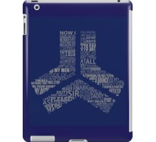 project freelancer agent Florida typography iPad Case/Skin
