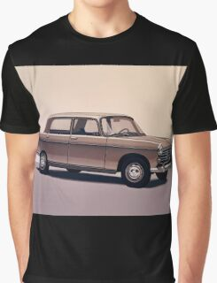 Peugeot 404 Painting Graphic T-Shirt