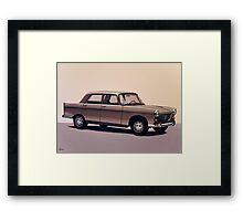 Peugeot 404 Painting Framed Print
