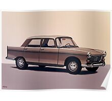Peugeot 404 Painting Poster