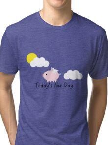 When Pigs Fly Tri-blend T-Shirt