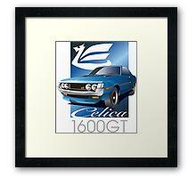 Celica daruma GT Framed Print