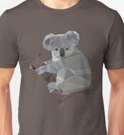 Polygonal Koala Unisex T-Shirt