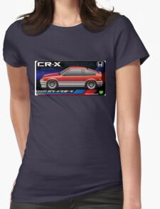 Light weight sports, CRX Si-R Womens Fitted T-Shirt