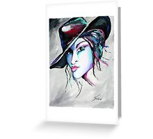 Billie Jean - Cowgirl Art by Valentina Miletic Greeting Card