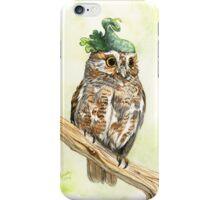 Strange Elf Owl iPhone Case/Skin