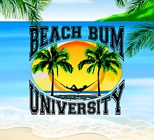 Beach Bum University by Packrat