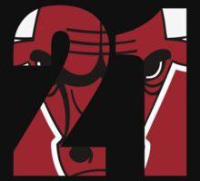 Jimmy Butler - Chicago Bulls 21 One Piece - Long Sleeve