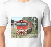 The Ghan train locomotive engine, Australia Unisex T-Shirt
