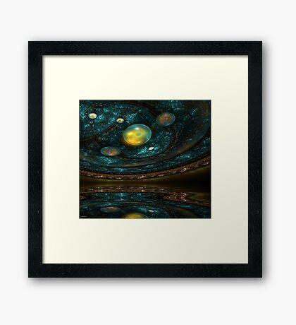 Ancient Star Chart Framed Print