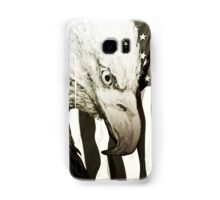 Nature's Stare With American Flag Samsung Galaxy Case/Skin