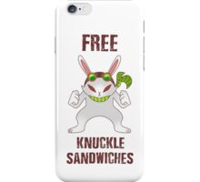 Free Knuckle Sandwiches iPhone Case/Skin