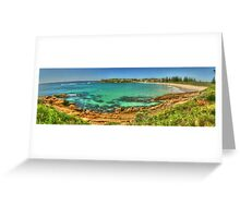 Beautiful Bermagui Panorama Greeting Card