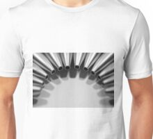 Unclicked Pen Tips Unisex T-Shirt