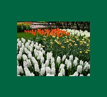 Fire and Ice - Dutch Bulbs in the Keukenhof Gardens Womens Fitted T-Shirt
