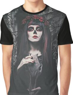 Catrina Day of the Dead Graphic T-Shirt