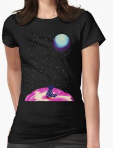 Looking up  Womens Fitted T-Shirt