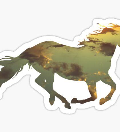 Skyrun  Sticker
