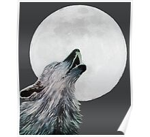 Howler and the Moon Poster