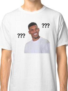Question Mark Guy (Meme) - Transparent Classic T-Shirt