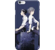 kaworu and shinji iPhone Case/Skin