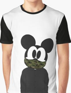 Hipster mickey Graphic T-Shirt