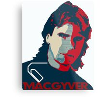 MacGyver: Operation Paperclip Metal Print