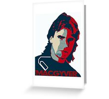 MacGyver: Operation Paperclip Greeting Card