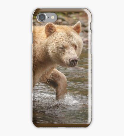 Spirit walks in water iPhone Case/Skin