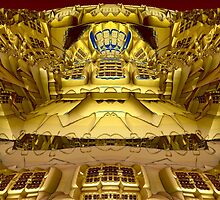 Golden Amphitheatre by barrowda