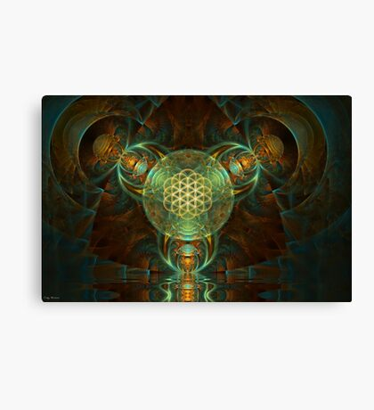 Passage Through The Multiverse Canvas Print