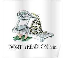 Don't Tread On Me Snake  Poster