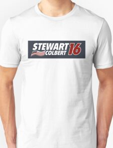 Stewart & Colbert 2016 Election Unisex T-Shirt