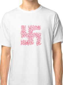 Swastika with Birds of Peace Symbol Classic T-Shirt