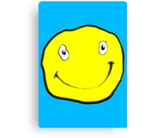 Happy Dumb Face Canvas Print