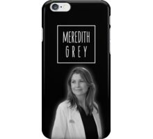 Meredith Grey iPhone Case/Skin