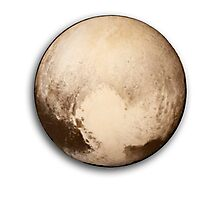 Pluto Loves You Photographic Print