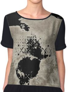 12th Doctor Misty Mountain T-Shirt Chiffon Top