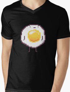 Standing Egg Pixel  Mens V-Neck T-Shirt