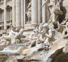 Trevi Fountain Sticker