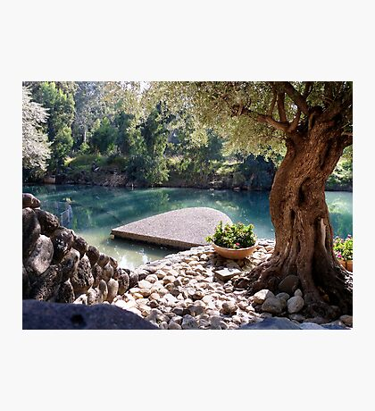 Beautiful River Jordan Photographic Print