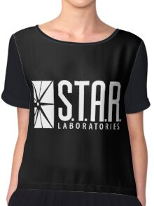 Black Star Labs Shirt Chiffon Top