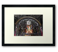 Above the Tomb Framed Print
