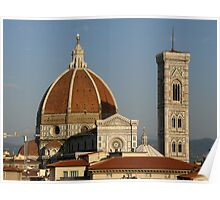 The Famous Landmark of Florence, Italy Poster