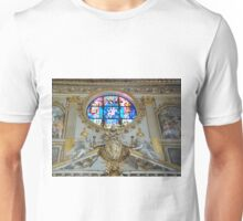 Statues and Stained Glass Unisex T-Shirt