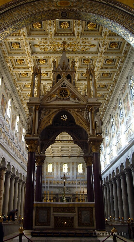 Tabernacle of Confession of the Basilica of St. Paul by Lucinda Walter