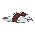 Gucci Flip Flops by HHHDesigns