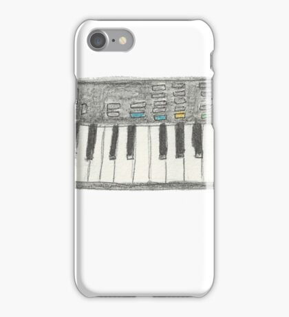 Retro Casio Keyboard iPhone Case/Skin