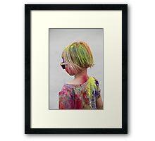 POWDERED! Holi Color Festival for All Ages!  Framed Print