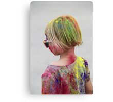POWDERED! Holi Color Festival for All Ages!  Canvas Print